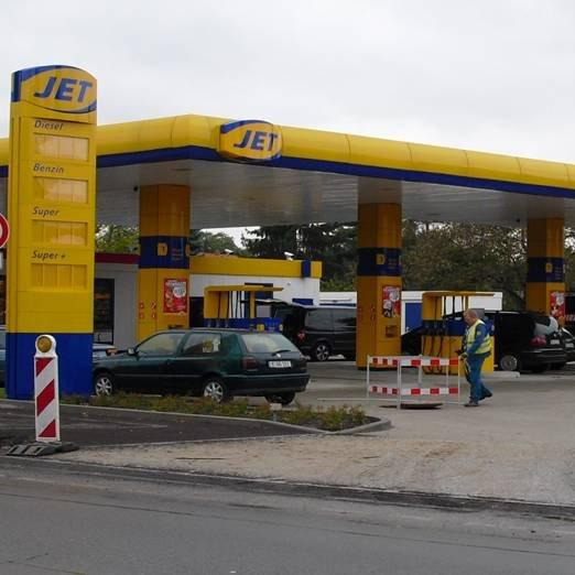 Jet Tankstelle Berlin Neu